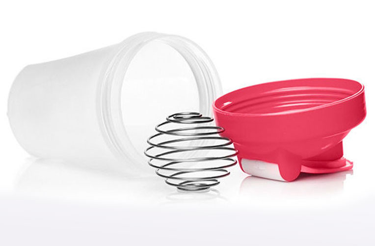 Slim and Save Drinks Shaker Mixer with Steel Ball