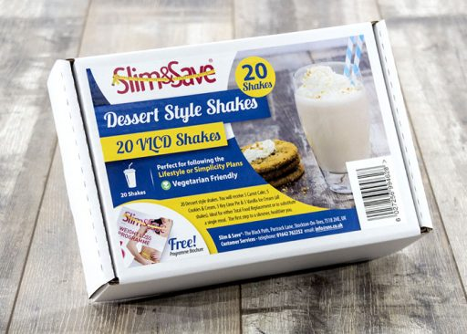 Slim and Save 20 Dessert Shakes Deal