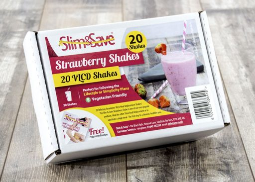 Slim and Save 20 Strawberry Shakes Deal