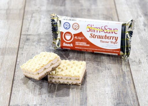 Slim and Save High Protein Strawberry Wafers