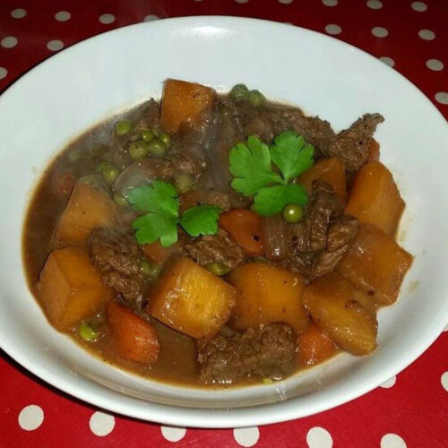 Peppery Beef Stew